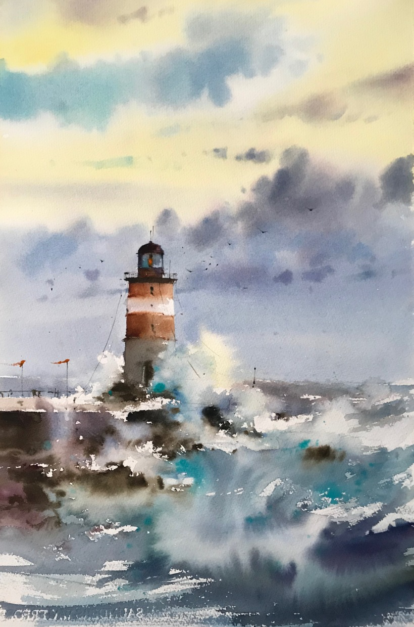 After the storm_ watercolor on paper_38x56 cm_800EUR_2019